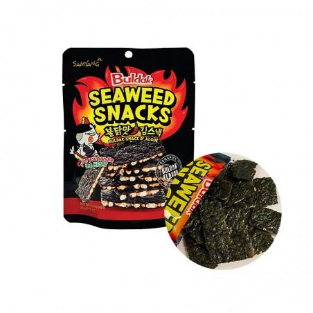 SAMYANG  SAMYANG Hot Chicken Seaweed snack 20g 1