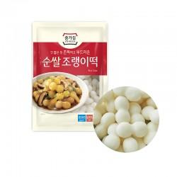 HANSUNG JONGGA (냉장) 종가 순쌀 조랭이떡 500g (유통기한: 24/09/2021 1