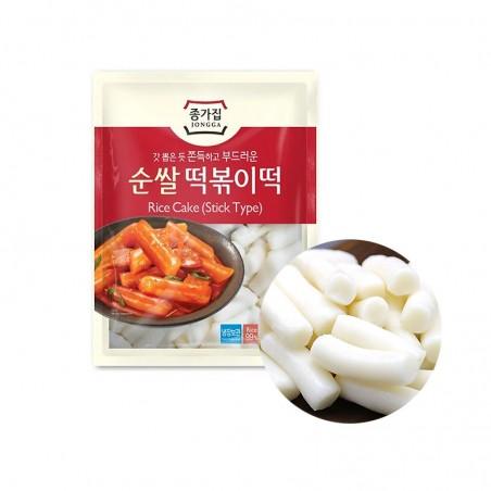 HANSUNG JONGGA (RF) JONGGA Rice Cake Tteokbokki-Tteok 500g (BBD : 10/11/2021) 1