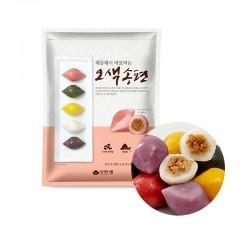 HANSUNG  (냉동) 대두식품 해동해서 바로 먹는 오색송편 1kg 1