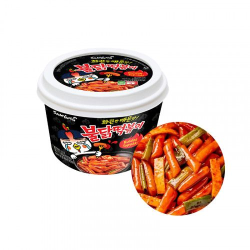 SAMYANG Cup Hot Chicken Rice Cake Buldak Topokki 185g 1