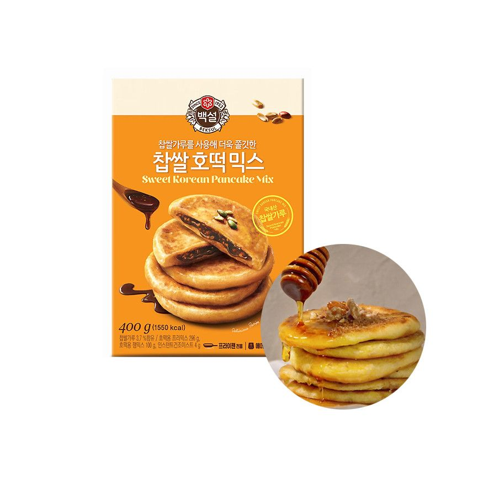 OTTOGI CJ BEKSUL CJBAEKSUL Teigmischung für Sweet Korean Pancake mit Erdnüssen 400g 1