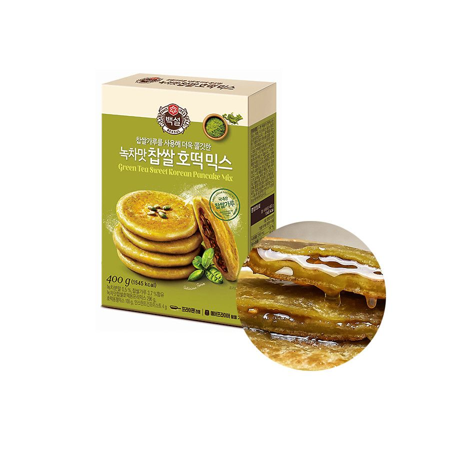 OTTOGI CJ BEKSUL CJ BEKSUL Teigmischung für Sweet Korean Pancake mit grünem Tee 400g 1