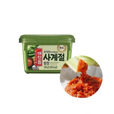 CJ HAECHANDLE CJ HAECHANDLE CJ HAECHANDLE Seasoned Soy Bean Paste Ssamjang 500g(BBD : 09/03/2022) 1