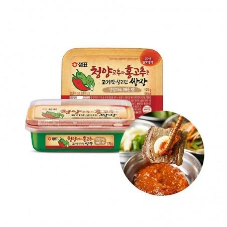 SEMPIO 샘표 청양고추와 홍고추로 고기맛 살리는 쌈장 170g 1