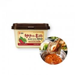 SEMPIO 샘표 청양고추와 홍고추로 고기맛 살리는 쌈장 500g 1