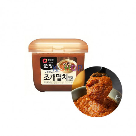 CHUNGJUNGONE CHUNGJUNGONE Bean Paste Doen Jang with Mussels 450g(BBD : 27/09/2021) 1