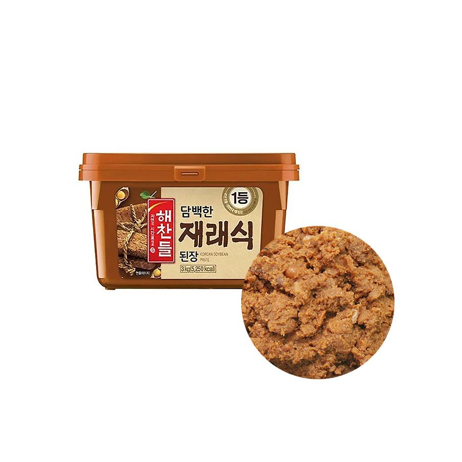 CJ HAECHANDLE  CJ HAECHANDLE Bohnenpaste Doen Jang 3kg (MHD : 12/02/2022) 1