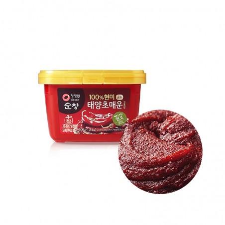 청정원 순창 매운 고추장 500g(유통기한: 15/09/2022) 1