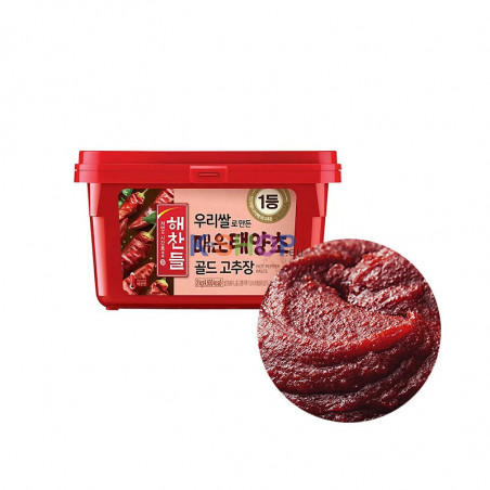 CJ HAECHANDLE  CJ HAECHANDLE Paprika Pastewürziger 500g 1