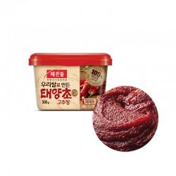 CJ HAECHANDLE CJ HAECHANDLE 해찬들 우리쌀로 만든 태양초 고추장 500g(유통기한: 18/07/2022) 1