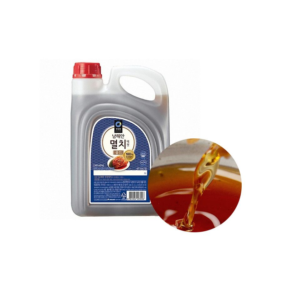 CHUNGJUNGONE CHUNGJUNGONE Fishsauce Anchovies 3kg 1