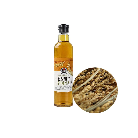 SEMPIO CJ BEKSUL CJ BEKSUL Essig aus Naturreis  (Naturally fermented) 800ml 1