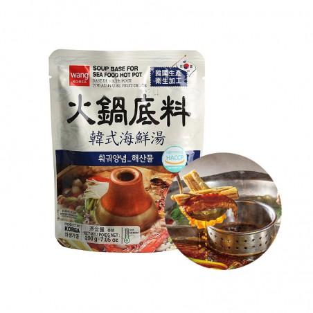 HANSUNG  WANG Suppenbasis für Hot Pot (SEAFOOD) 200g 1