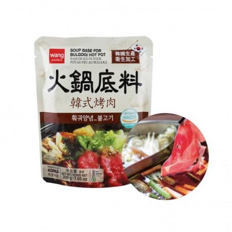 HANSUNG  WANG Soup Base for Hot Pot (BULGOGI) 200g 1