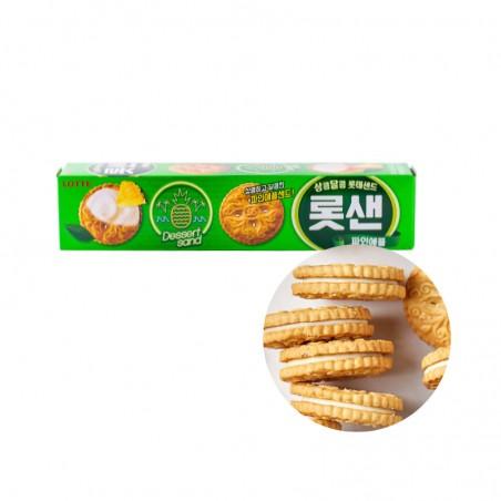 LOTTE LOTTE LOTTE Keks Dessert Sand Ananas 105g 1