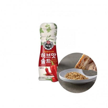 OTTOGI CJ BEKSUL CJ BEKSUL Hot herbal flavored salt 50g 1