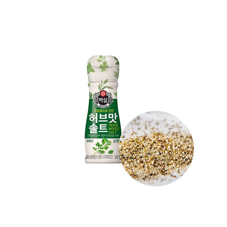 OTTOGI CJ BEKSUL CJ BEKSUL Mild herbal flavored salt 50g 1