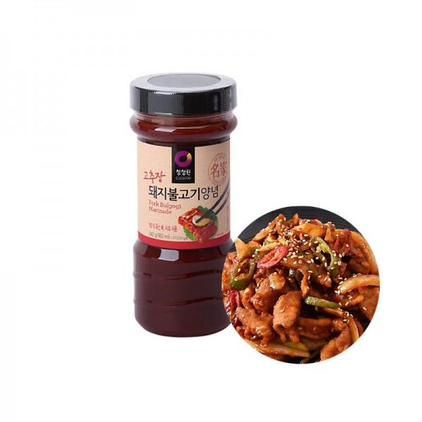 CHUNGJUNGONE CHUNGJUNGONE Bulgogi Sauce für Schweinefleisch 840g 1