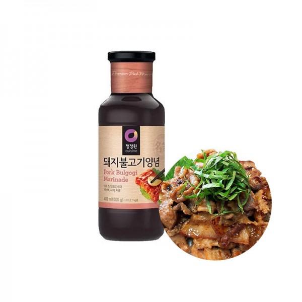 CHUNGJUNGONE CHUNGJUNGONE Bulgogi Marinade Sauce für Schweinefleisch 500g 1