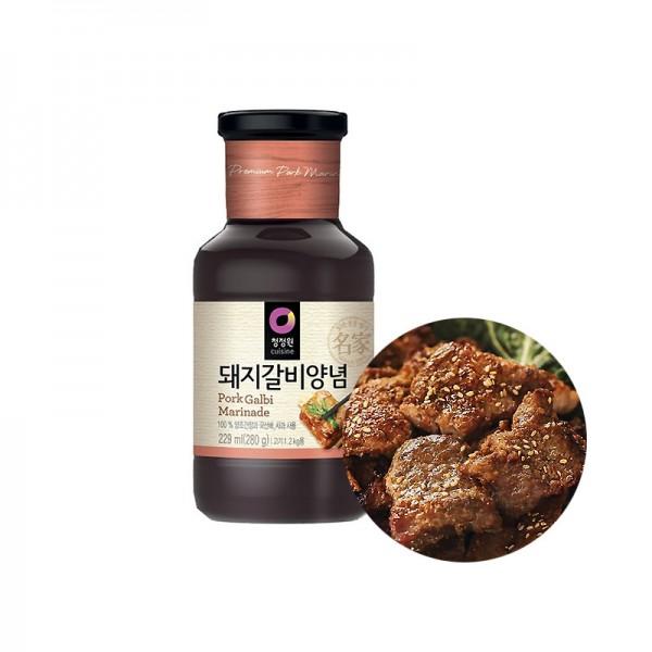 CHUNGJUNGONE CHUNGJUNGONE Galbi Marinade Sauce für Schweinerippe 280g 1