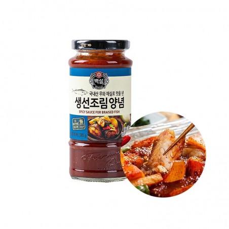 CJ BEKSUL CJ BEKSUL CJ BS Spicy sauce for braised fish 285g 1