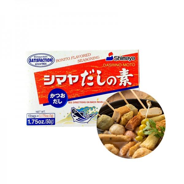 SHIMAYA SHIMAYA SHIMAYA Bonito aromatisiertes Gewürz Dashino-Moto 50g 1