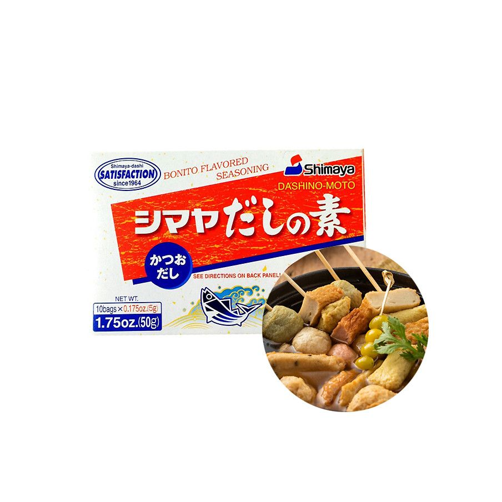 SHIMAYA SHIMAYA SHIMAYA Bonito flavoured seasoning Dashino-Moto 50g 1