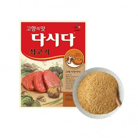 BAEKSUL CJ BEKSUL CJ BEKSUL Rindfleisch aromatisieres Gewürz Dasida 2.25kg(MHD : 12/07/2021) 1