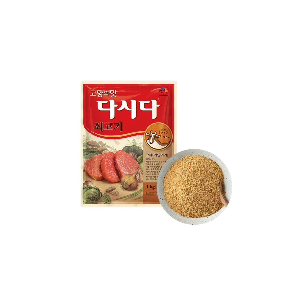 BAEKSUL CJ BEKSUL CJ BEKSUL Rindfleisch aromatisieres Gewürz Dasida 1kg(MHD : 12/08/202) 1
