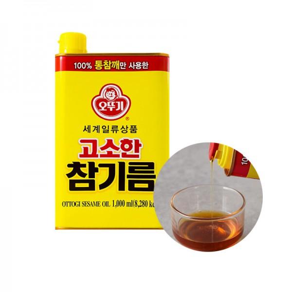 OTTOGI OTTOGI Sesame Oil 1L 1