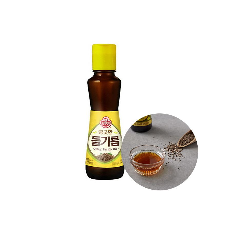OTTOGI OTTOGI OTTOGI Sesame oil from field sesame (perilla oil)160ml 1