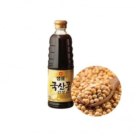 SEMPIO SEMPIO SEMPIO Sojasauce, natürlich gebraut aus koreanische Sojabohnen 930ml 1