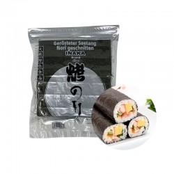 INAKA INAKA INAKA Seetang für Sushi Nori (SILBER) 50 Blätter 125g 1