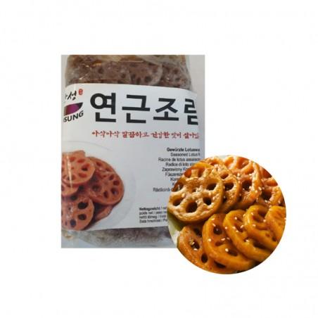 HANSUNG (TK)(K-FOOD) Gewürzte Lotuswurzel 1kg 1
