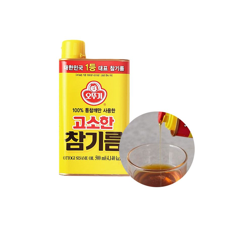 OTTOGI OTTOGI OTTOGI Sesame Oil 500ml 1
