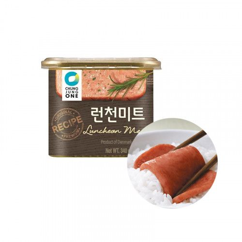 CHEONGJEONGWON CHUNGJUNGONE CHUNGJUNGONE Luncheon Meat 340g 1