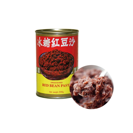 JINYANG  WU CHUNG Rote Bohnen Paste 510 g 1