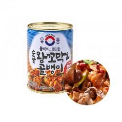 Dongwon DONGWON 유동 순살 왕꼬막 & 골뱅이캔 280g 1