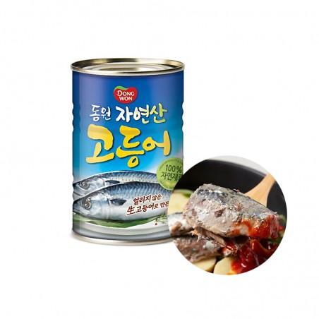 Dongwon DONGWON DONGWON Makrelen in Dose  400g 1