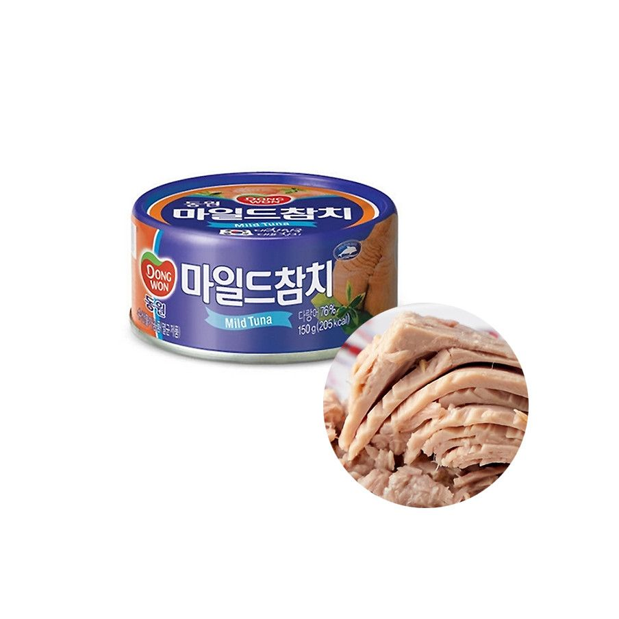 Dongwon DONGWON DONGWON Canned Tuna Mild 150g 1