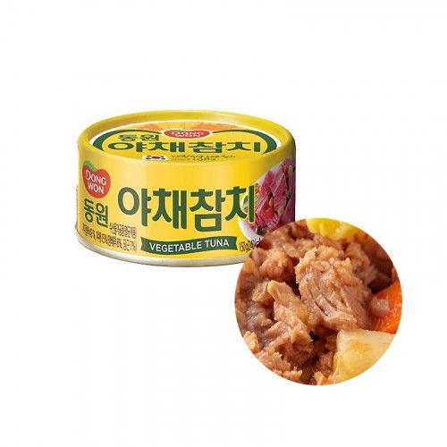 Dongwon DONGWON DONGWON Vegetable Tuna Can 150g 1
