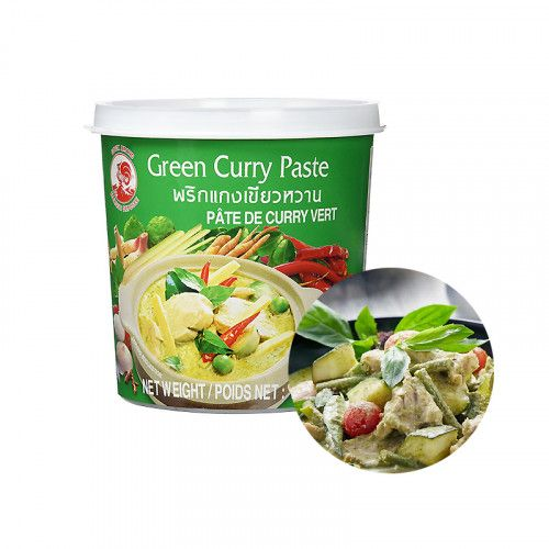 COCK COCK COCK Green Curry Paste 400g(BBD : 29/05/2022) 1