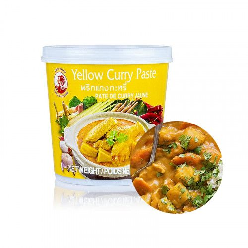 COCK COCK COCK Yellow Curry Paste 400g 1