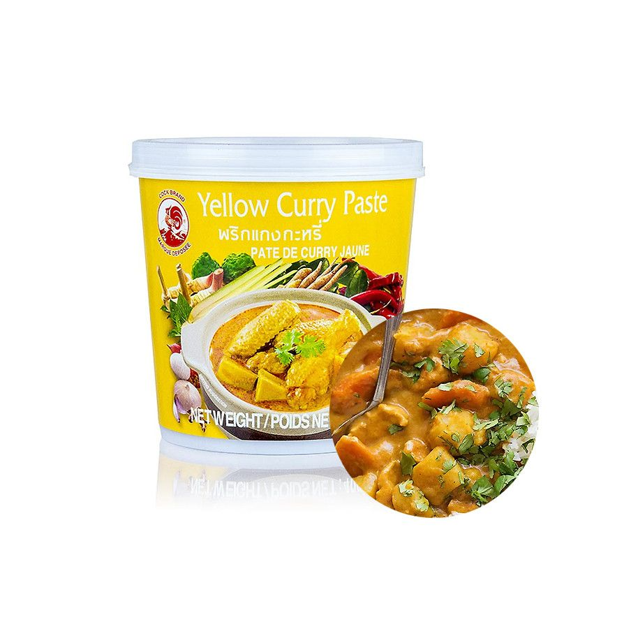 COCK COCK COCK Yellow Curry Paste 400g(MHD : 19/02/2023) 1