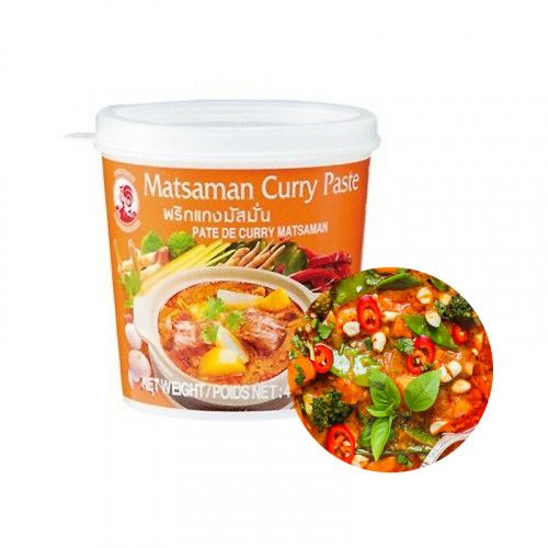 COCK COCK COCK Massaman Curry Paste 400g(MHD : 21/05/2022) 1