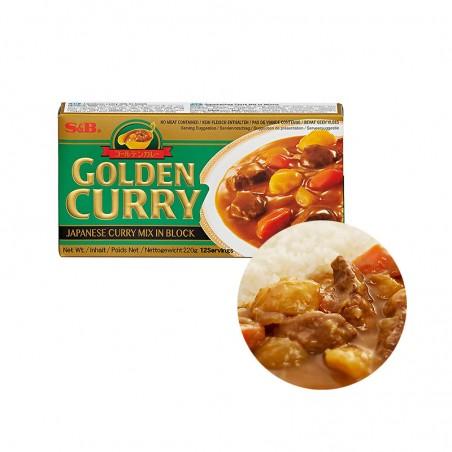S&B  S&B Curry medium scharf 220g 1