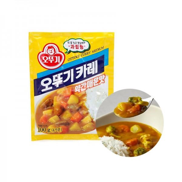 OTTOGI OTTOGI 오뚜기 카레가루 약간매운맛 100g 1