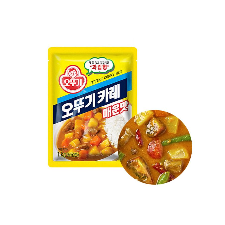 OTTOGI OTTOGI OTTOGI Curry Powder hot 1kg 1