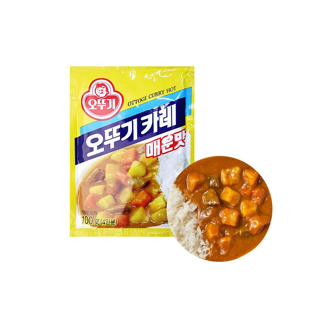 OTTOGI OTTOGI 오뚜기 카레가루 매운맛 100g 1
